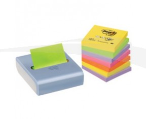 Lot de 3 dévidoirs rechargeables de 20 notes repositionnables POST-IT