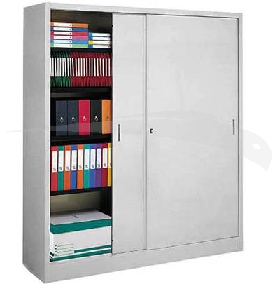 Armoire m tallique a portes coulissantes selection for Porte de garage haute