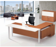 Bureau de direction ALPHA L 200 P 120 H 75 cm