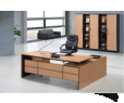 "Bureau de direction ""STAFF""  L  220  P 190 H 76  cm"