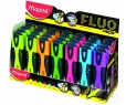 FLUORESCENT SOFT prés de 24 coul assortie réf 742637 MAPED