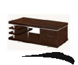 Table de café 1200W*600D*480H Wenge