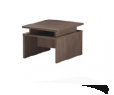 Table de café 600W x 600D x 450H Wengé
