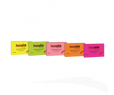 "POST-IT Colle Notes 3x5"" JAUNE/ ROSE/ VERT"