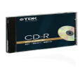 CD-R 90 Minute 800MB 40X 10PK HIGH CAPACITY FJC Réf : TDK18780