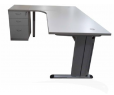BUREAU VAGUE 1800x800+1200x600x750mm TA-G1812L-30/HP 750K